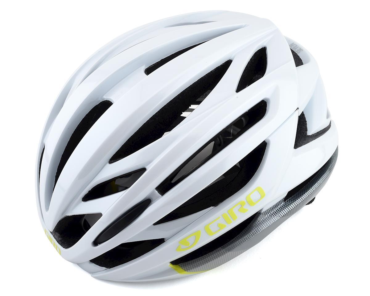 Giro Women's Seyen MIPS Helmet (White/Grey/Citron) (M)