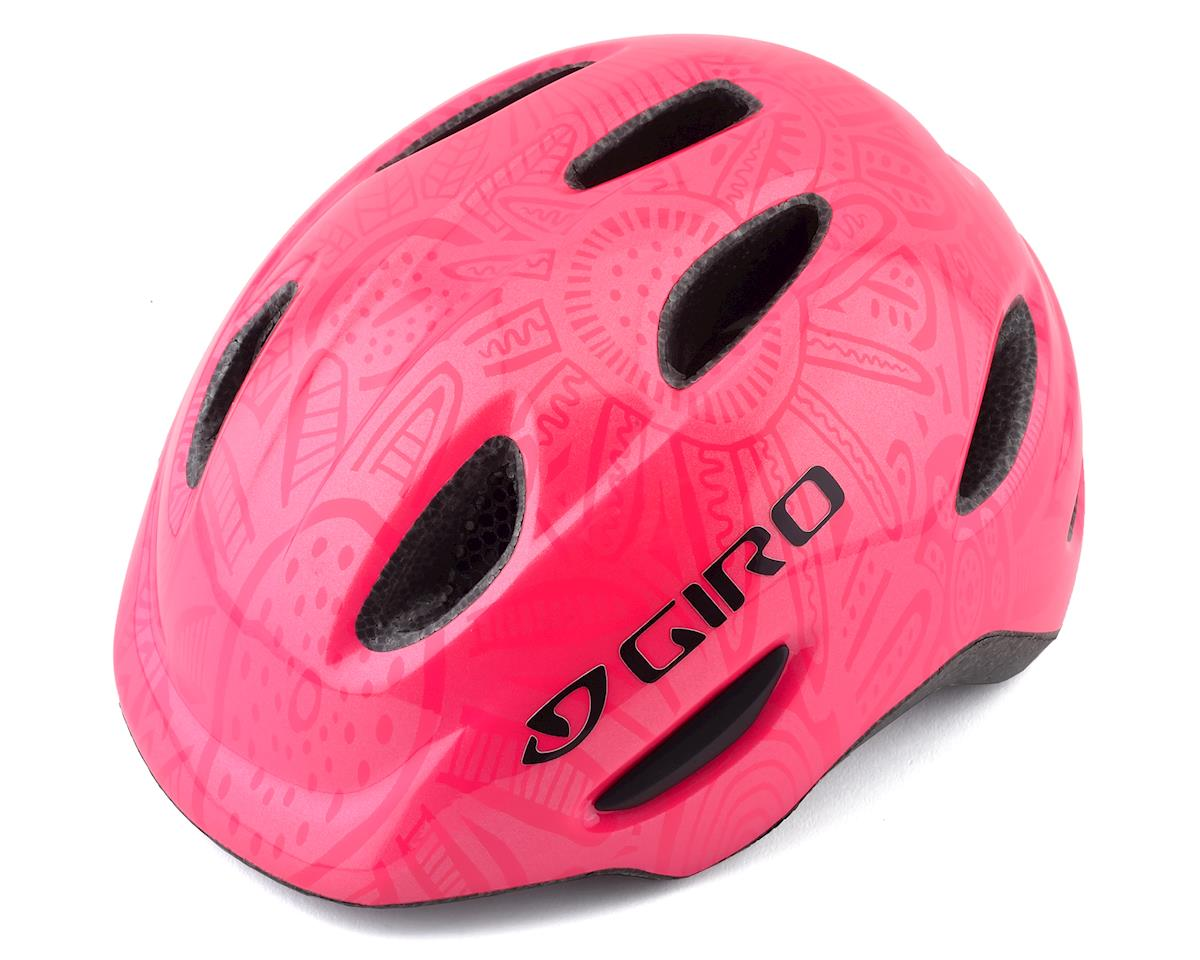 Giro Kids's Scamp Bike Helmet(Bright Pink/Pearl)