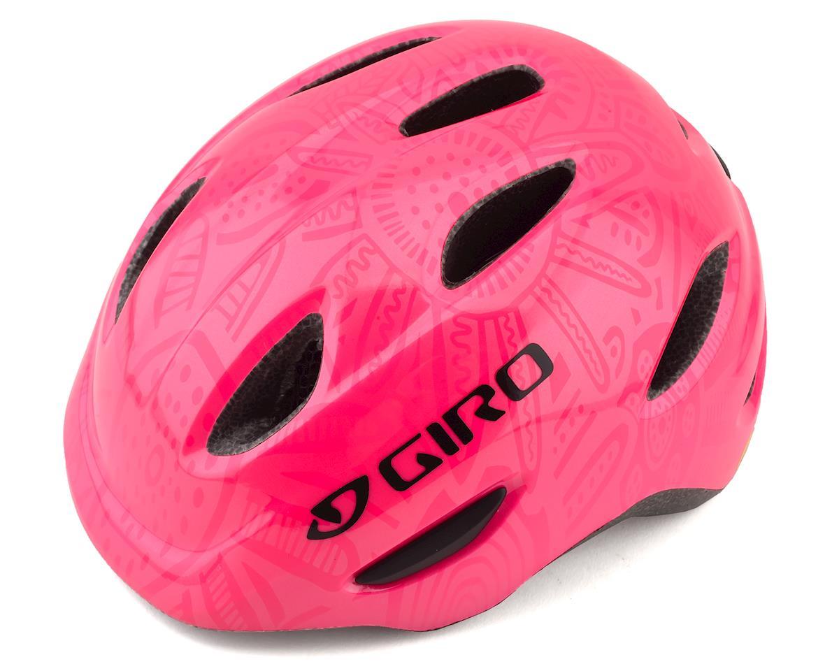 Giro Kid's Scamp MIPS Helmet (Bright Pink/Pearl) (S) (S)