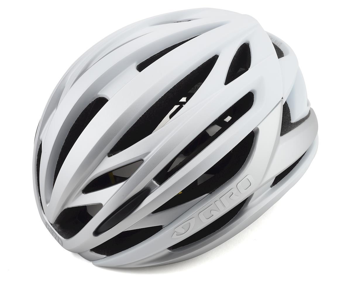 Giro Syntax MIPS Road Helmet (Matte White/ Silver) (XL)