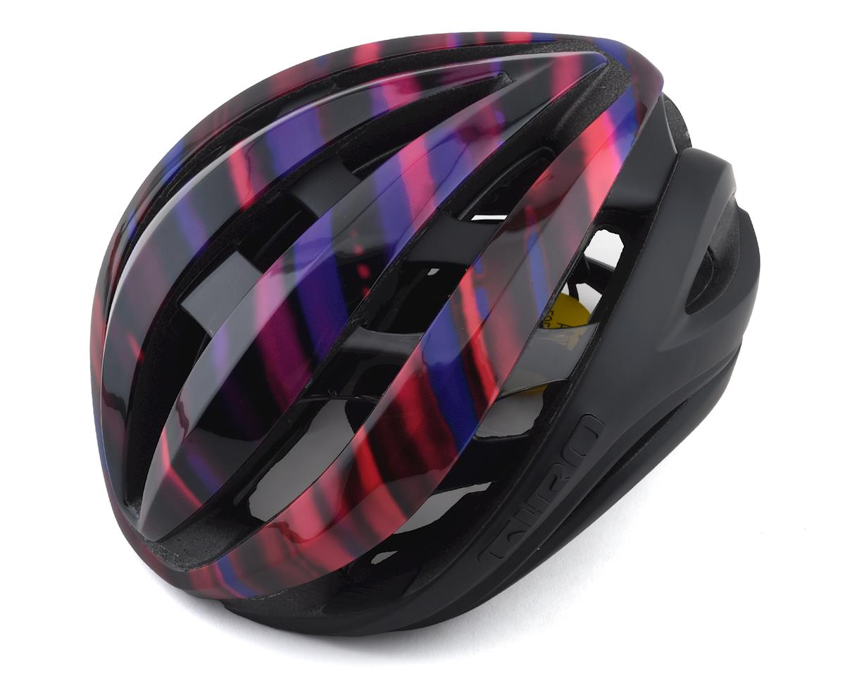 Giro Aether MIPS Helmet (Matte Black/Electric Purple) (S)