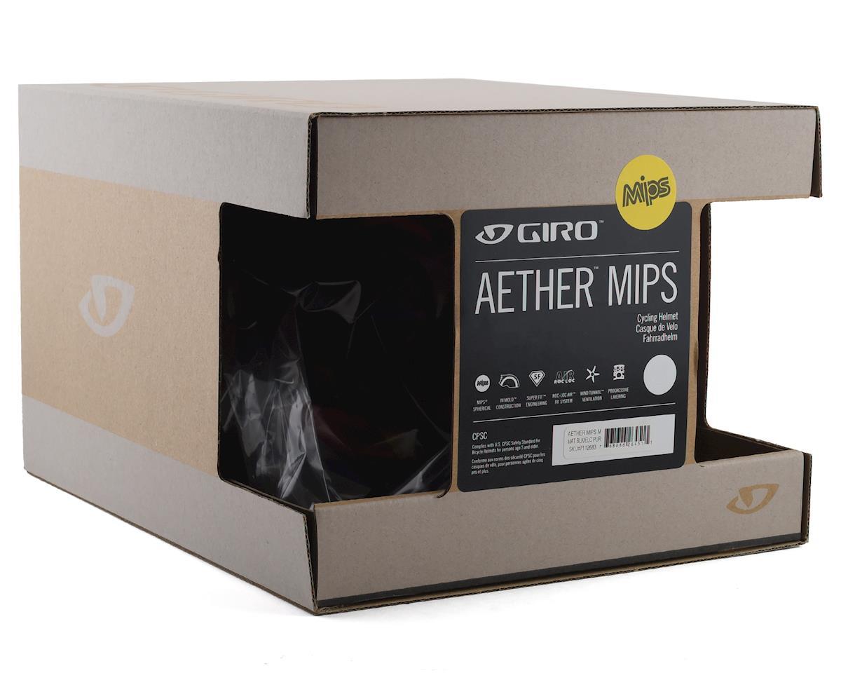 Giro Aether MIPS Helmet (Matte Black/Electric Purple) (L)
