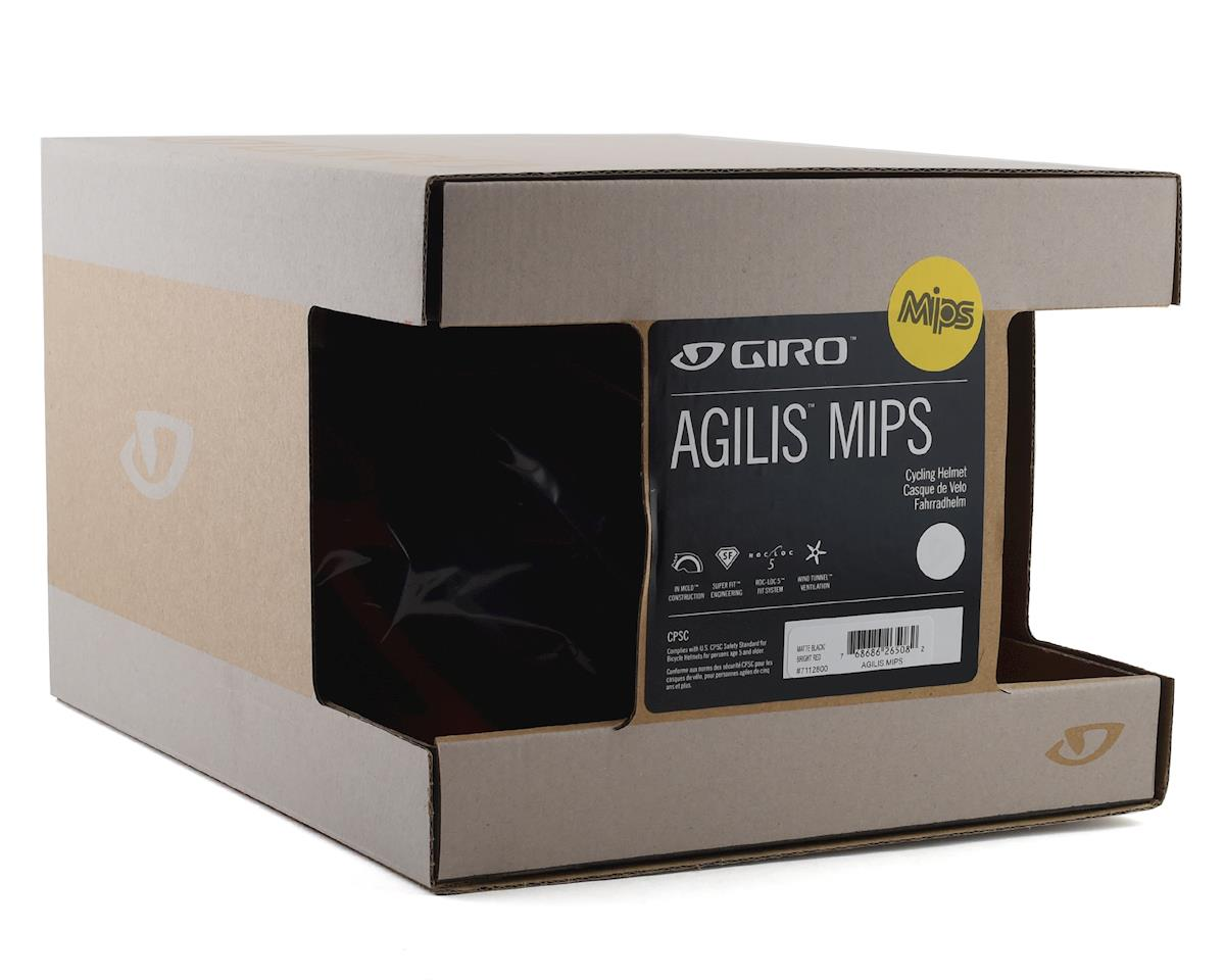 Giro Agilis Helmet w/ MIPS (Matte Black/Bright Red) (M)