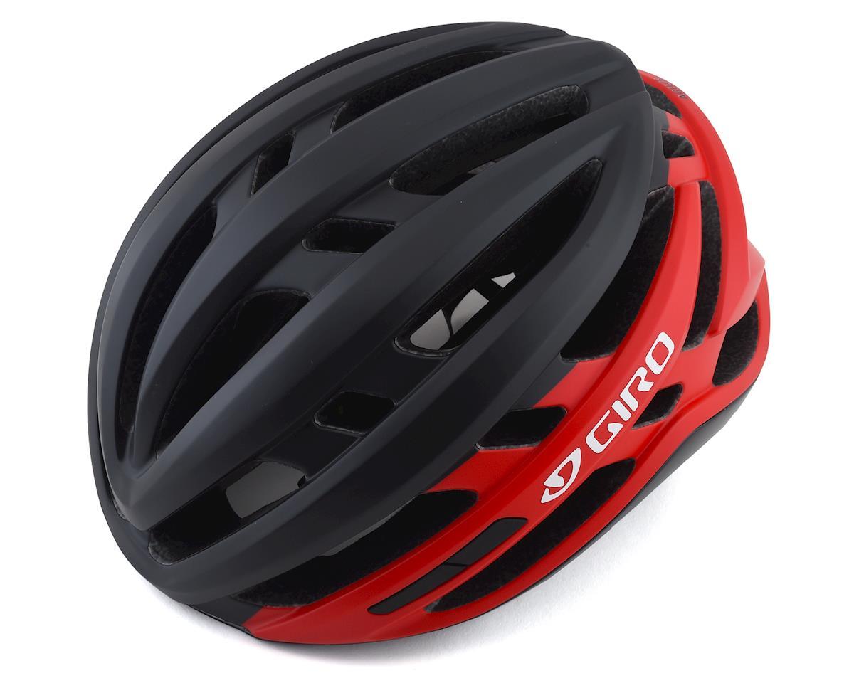 Giro Agilis Helmet w/ MIPS (Matte Black/Bright Red) (L)