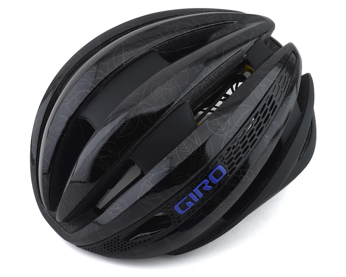 Giro Synthe MIPS Road Helmet (Matte Black Floral) (L)