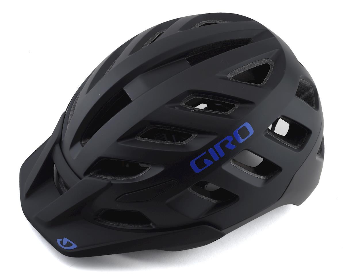 Giro Radix Women's Mountain Helmet w/ MIPS (Matte Black/Electric Purple) (M)