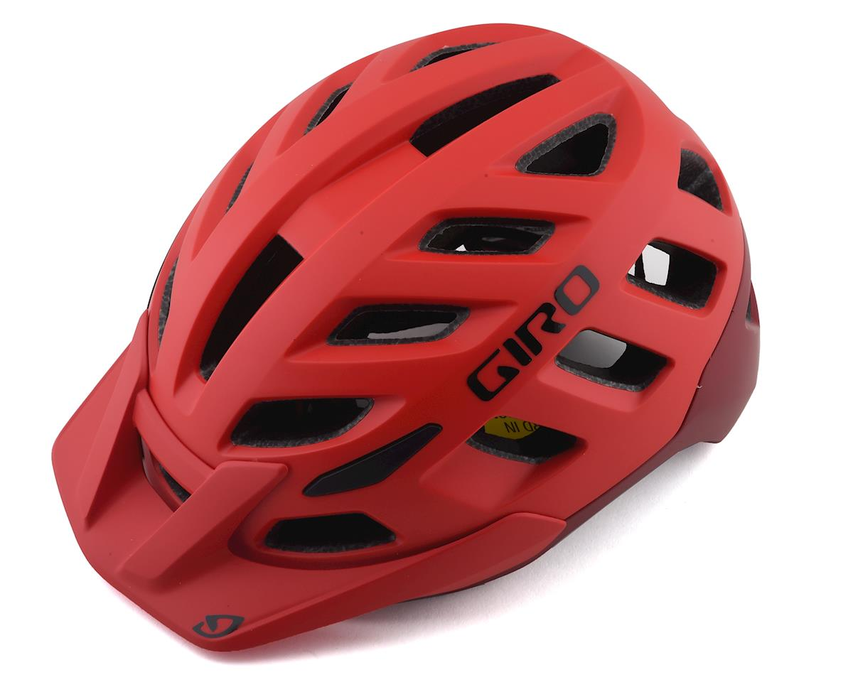 Giro Radix Mountain Helmet w/ MIPS (Matte Bright Red/Dark Red) (S)