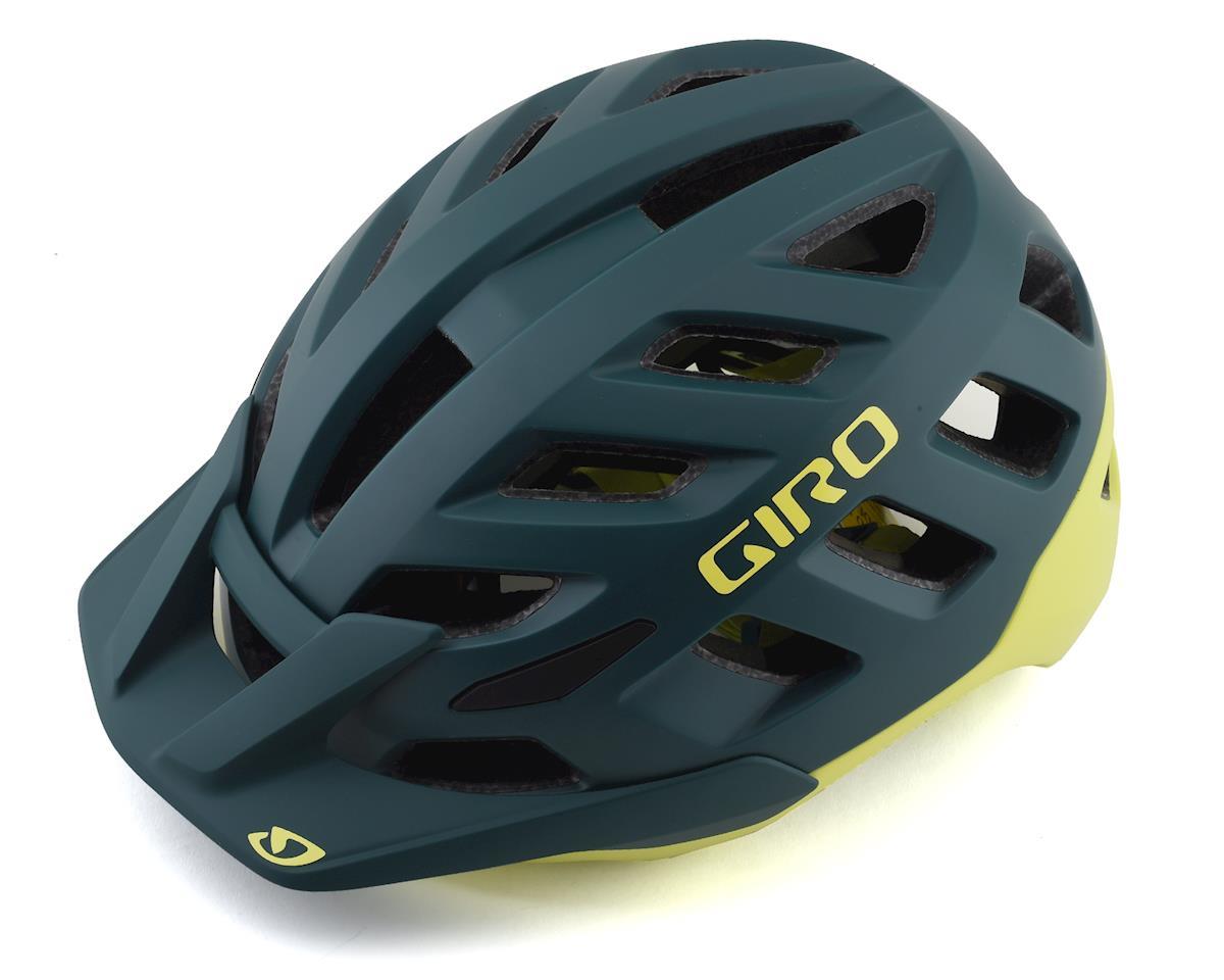 Giro Radix Mountain Helmet w/ MIPS (Matte True Spruce/Citron) (M)