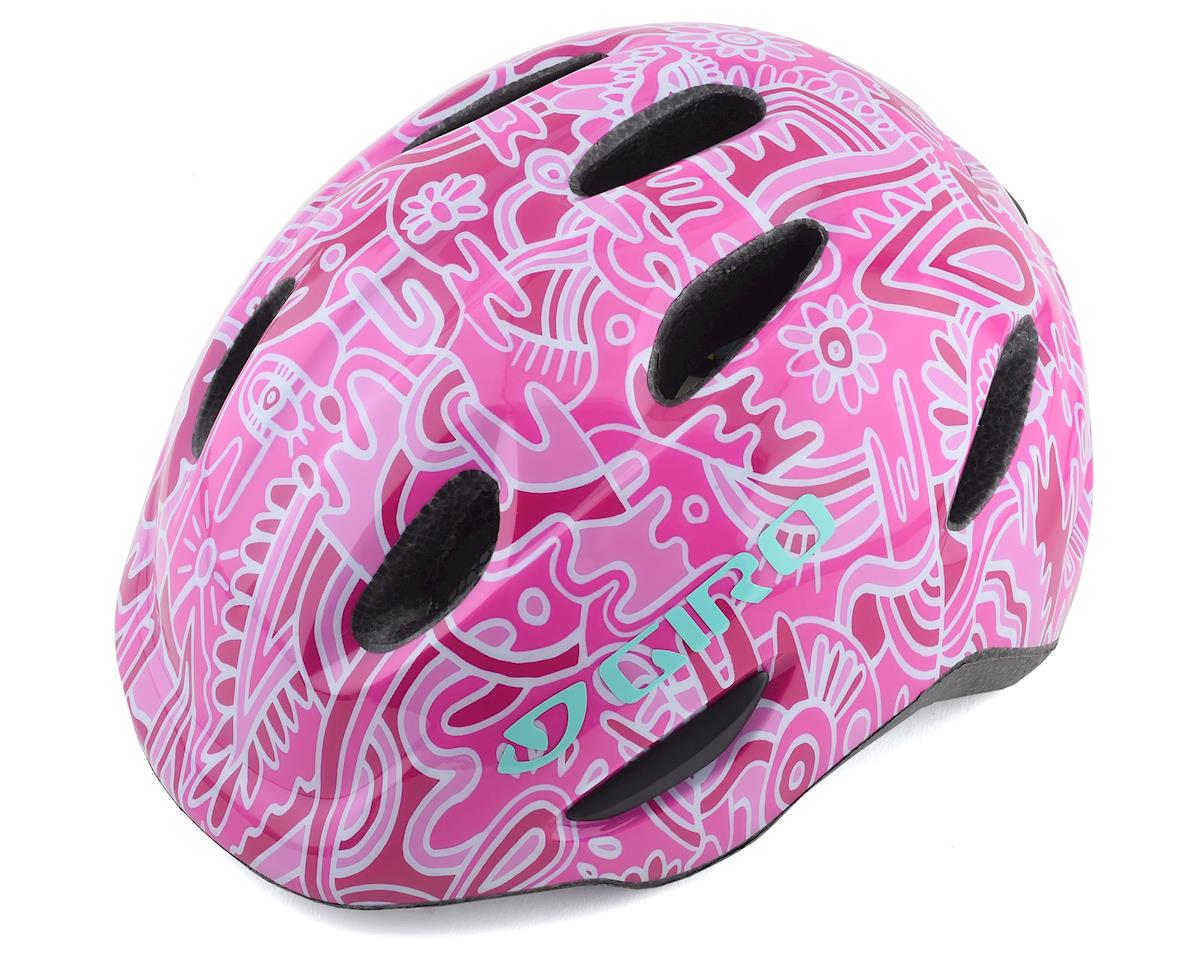 Giro Kid's Scamp MIPS Helmet (Pink Flower Land) (S)