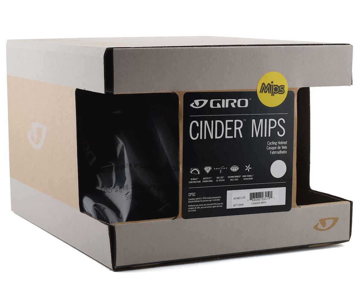 Giro Cinder Road Helmet w/ MIPS (Matte Gunmetal Classic Stripe) (M)