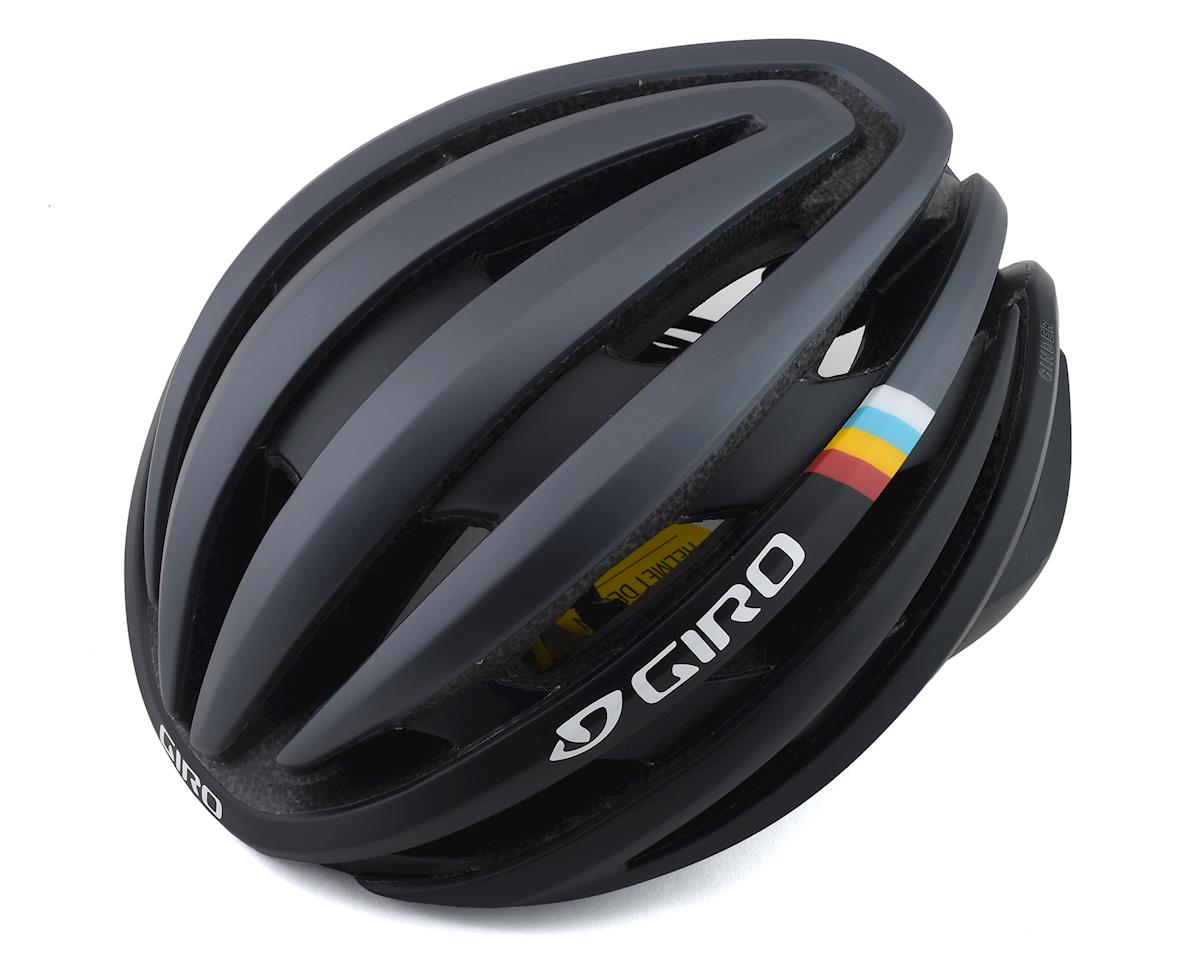 Giro Cinder Road Helmet w/ MIPS (Matte Gunmetal Classic Stripe) (L)