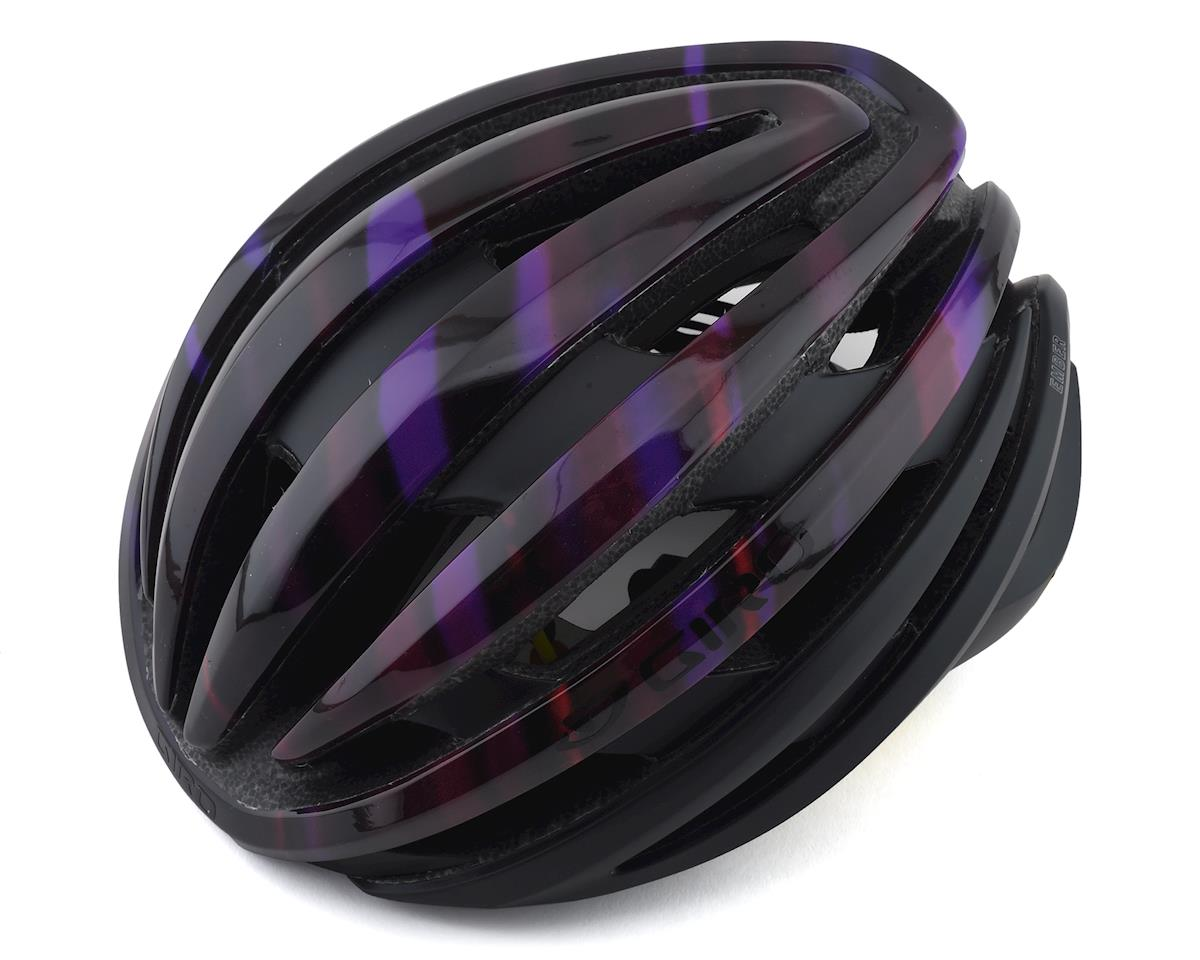 Giro Ember Road Helmet w/ MIPS (Matte Black/Electric Purple) (S)