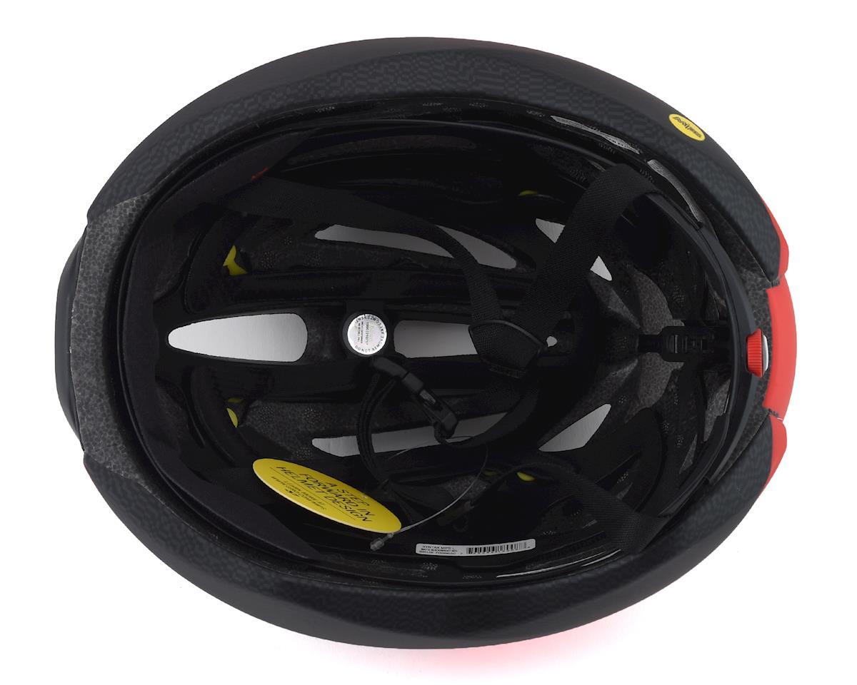 Giro Syntax MIPS Road Helmet (Matte Black/Bright Red) (XL)