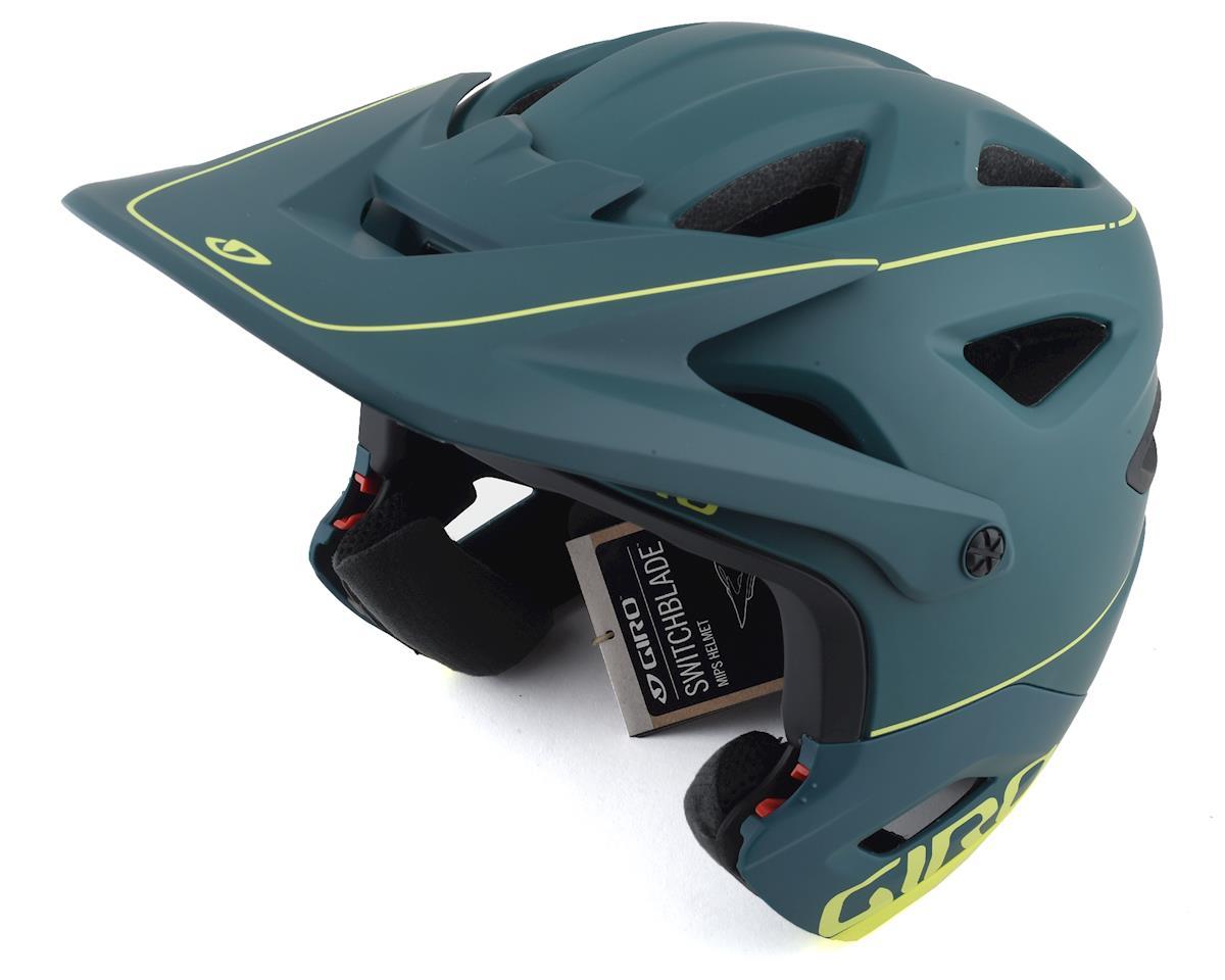 Image 4 for Giro Switchblade MIPS Helmet (True Spruce/Citron) (S)