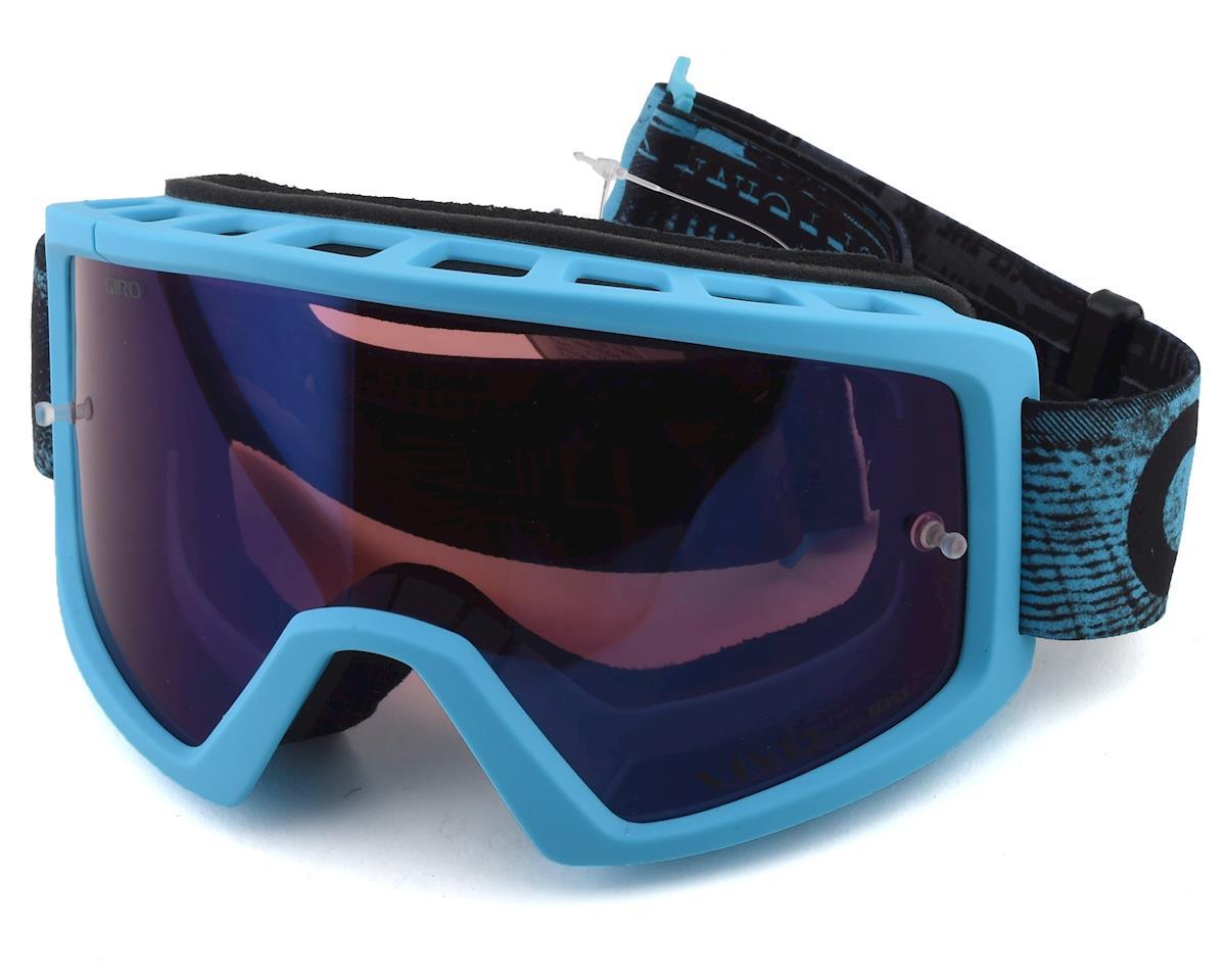 Giro Blok Mountain Goggles (Blue Hyper) (Vivid Trail Lens)