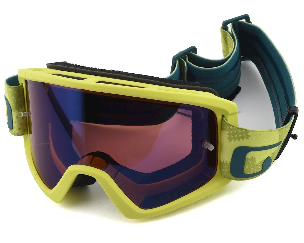Giro Tazz Mountain Goggles (Citron Fanatic) (Vivid Trail Lens)