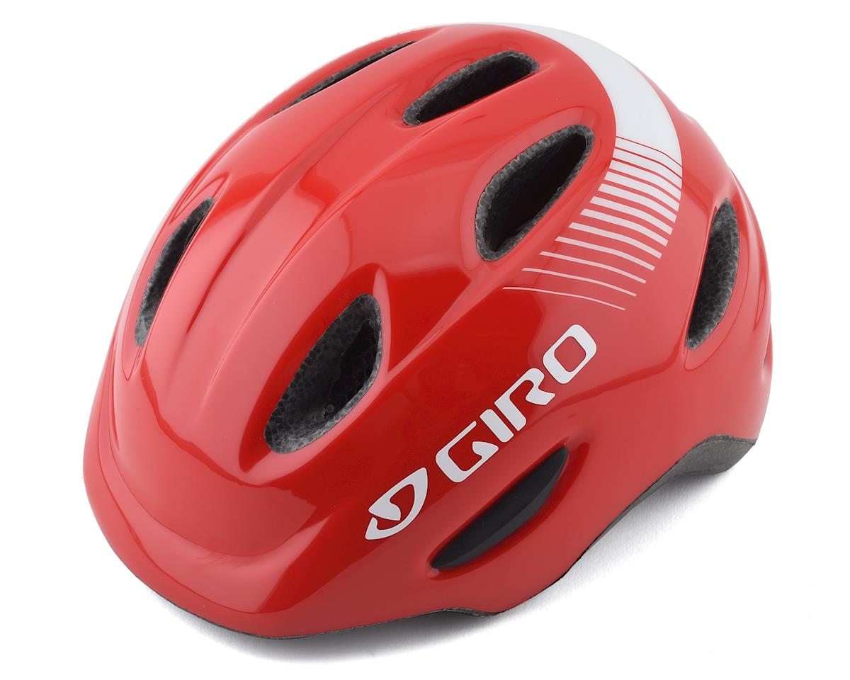 Giro Kids's Scamp Bike Helmet (Bright Red)