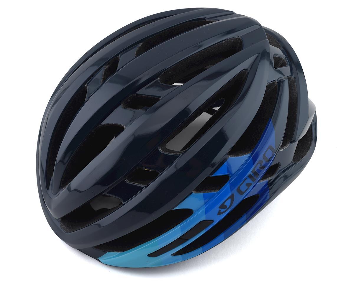 Giro Agilis Helmet w/ MIPS (Matte Iceberg/Midnight Bars) (M)
