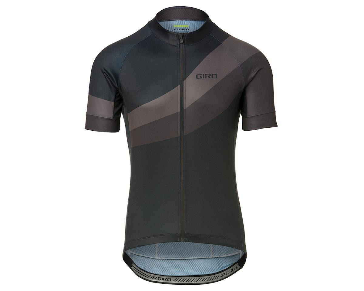 Giro Men's Chrono Sport Short Sleeve Jersey (Black Render) (L)
