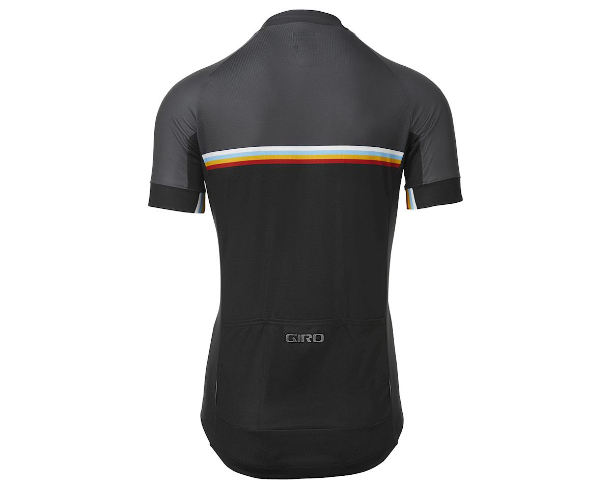 Image 2 for Giro Men's Chrono Sport Short Sleeve Jersey (Black Classic Stripe) (2XL)