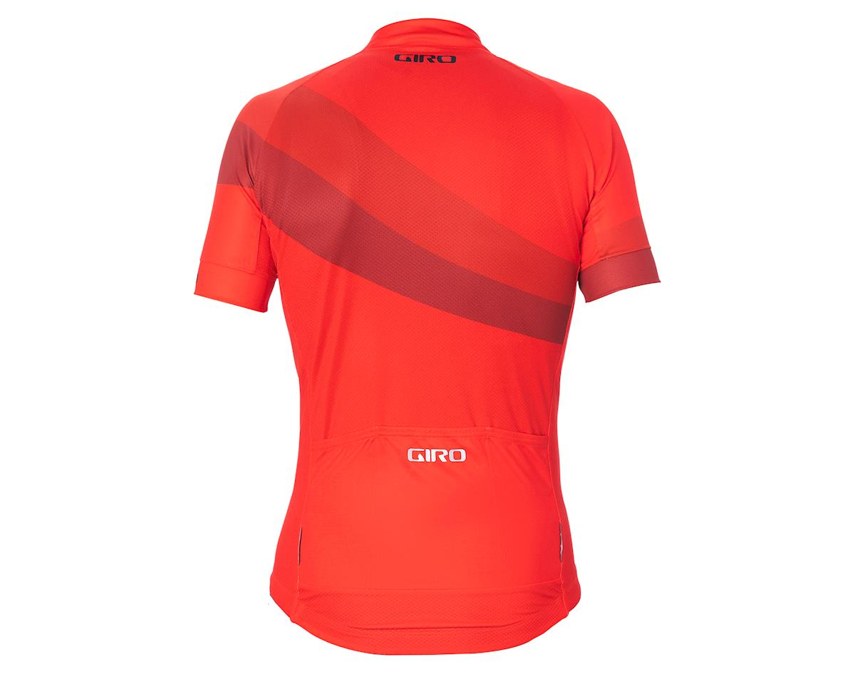 Image 2 for Giro Men's Chrono Sport Short Sleeve Jersey (Bright Red Render) (XL)