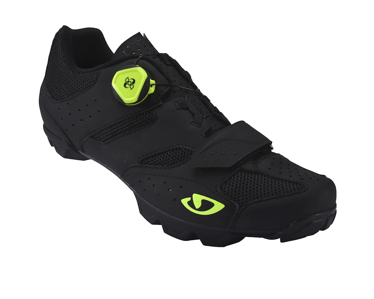 Image 1 for Giro Candidate Mountain Shoes (Black/Hivis Yellow)
