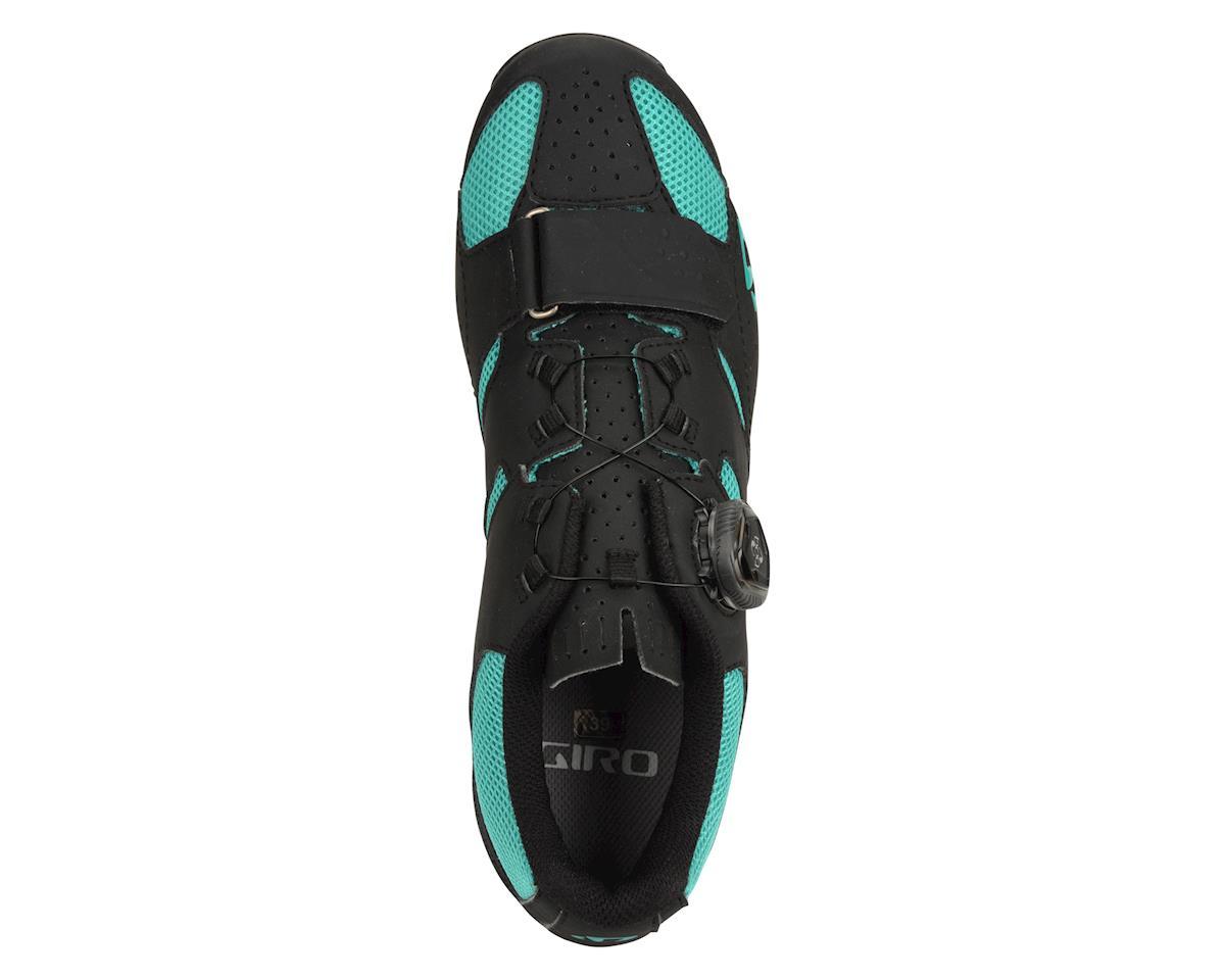Image 2 for Giro Sage Boa Women's Mountain Shoes - Exclusive (Matte Black/Green) (36.0)