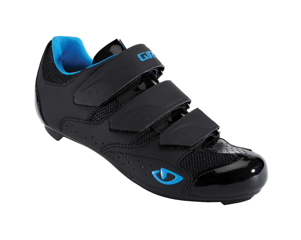 Giro Women's Salita Road Shoes - Performance Exclusive (Black/Blue) (42)