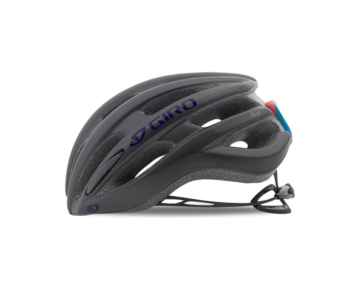 Image 3 for Giro Women's Saga Road Helmet - 2018 (Matte Titanium) (Medium)