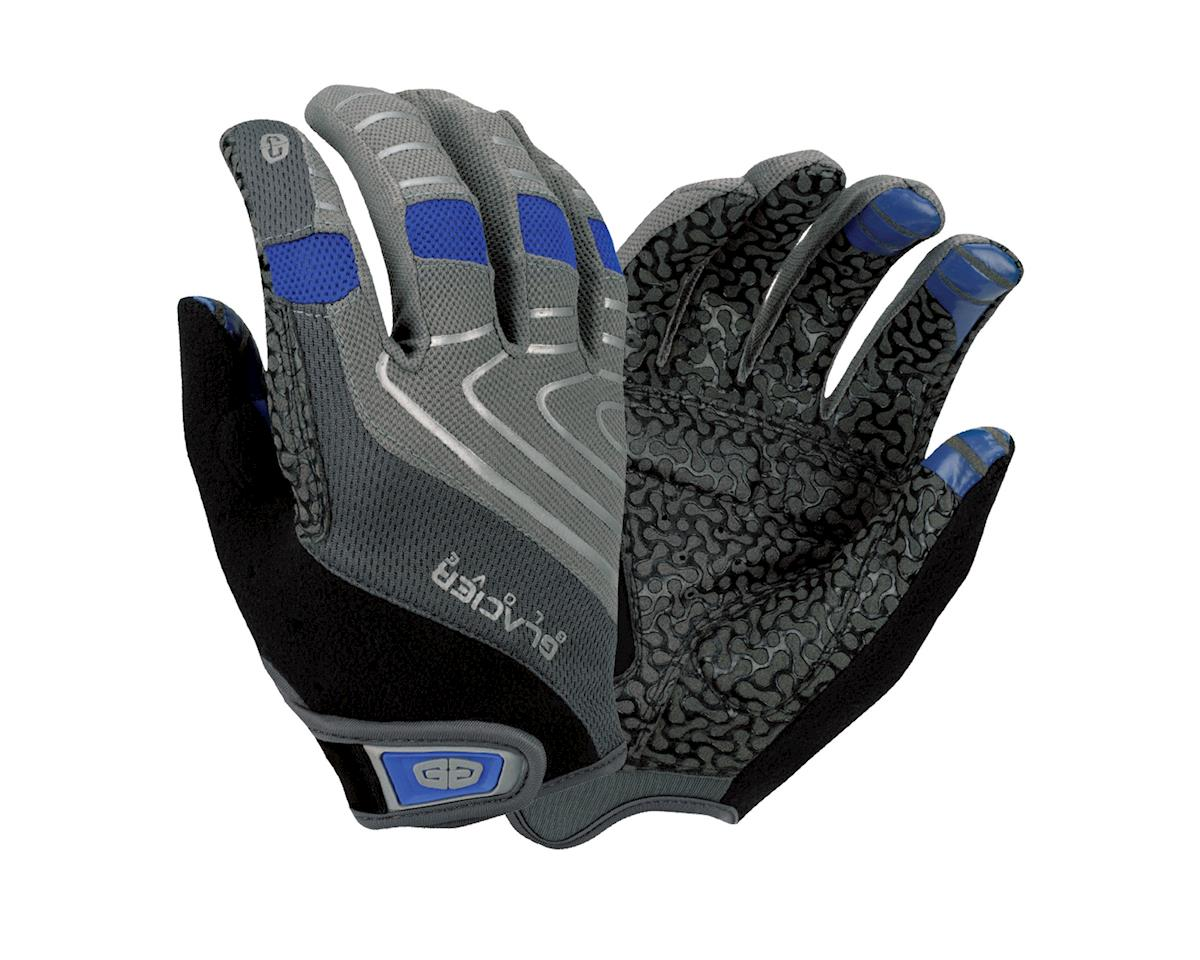 Glacier Glove Full Finger Cycling Gloves (Grey)