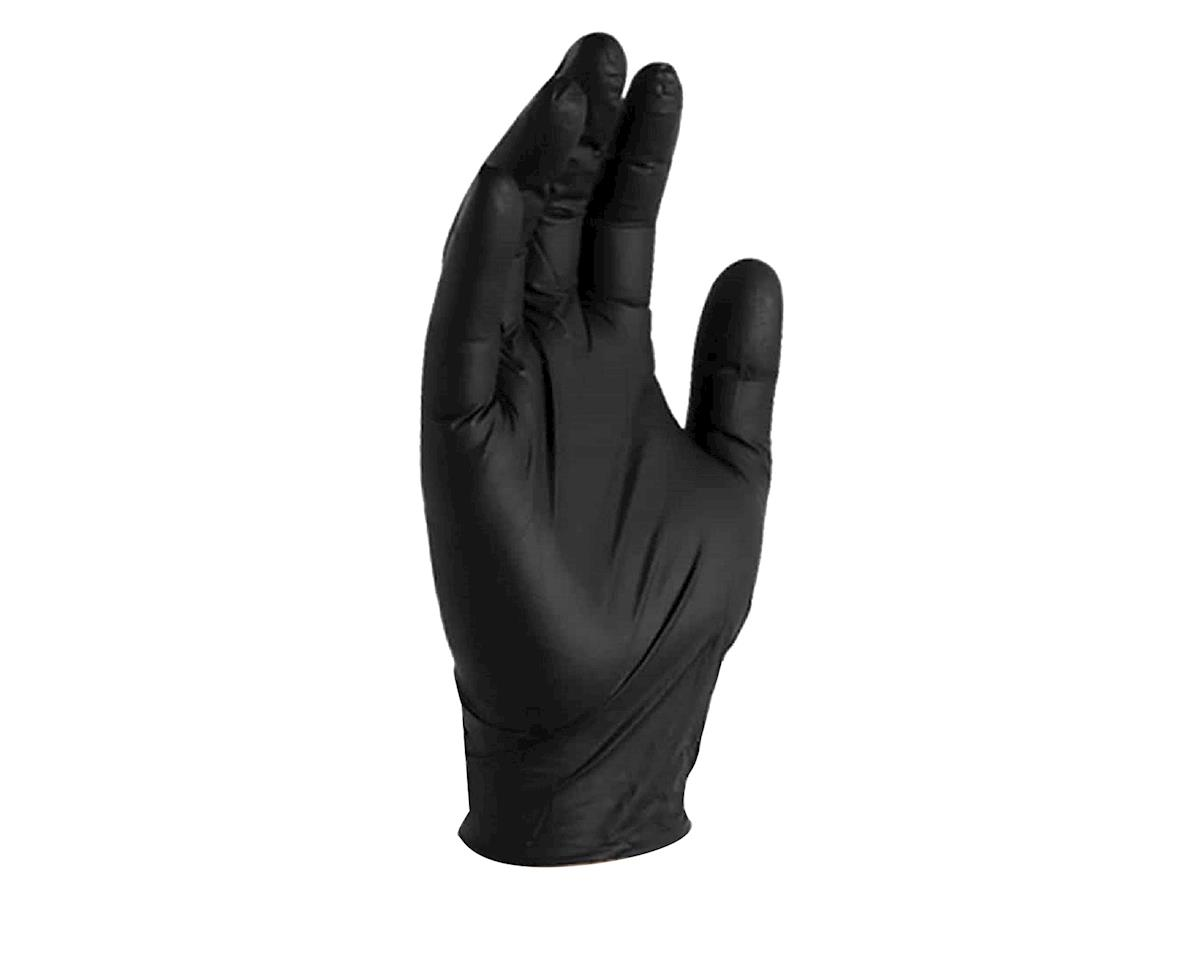 Gloveworks Nitrile Work Gloves (Black) (100/Box) (M)