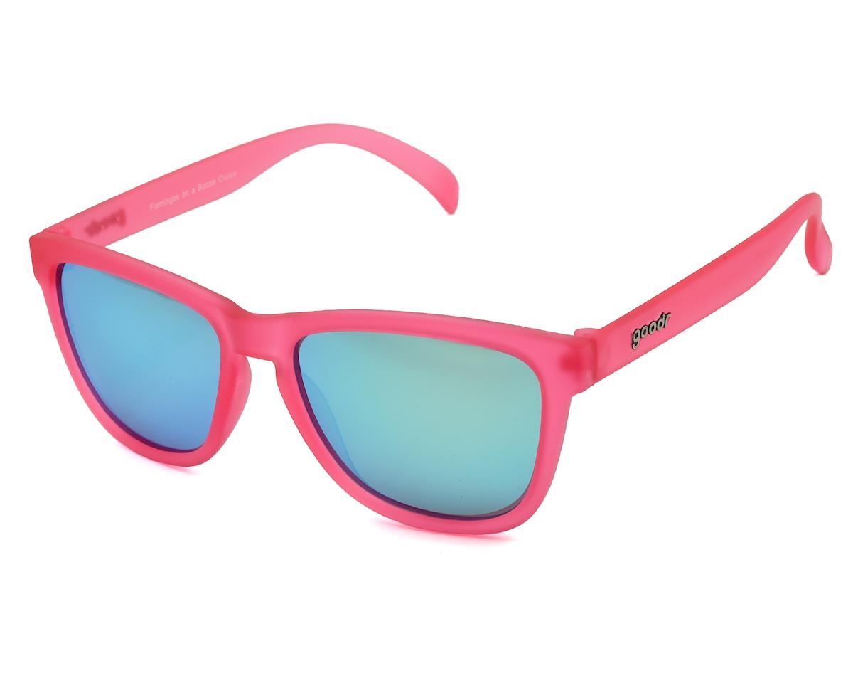 Goodr OG Sunglasses (Flamingos on a Booze Cruise)