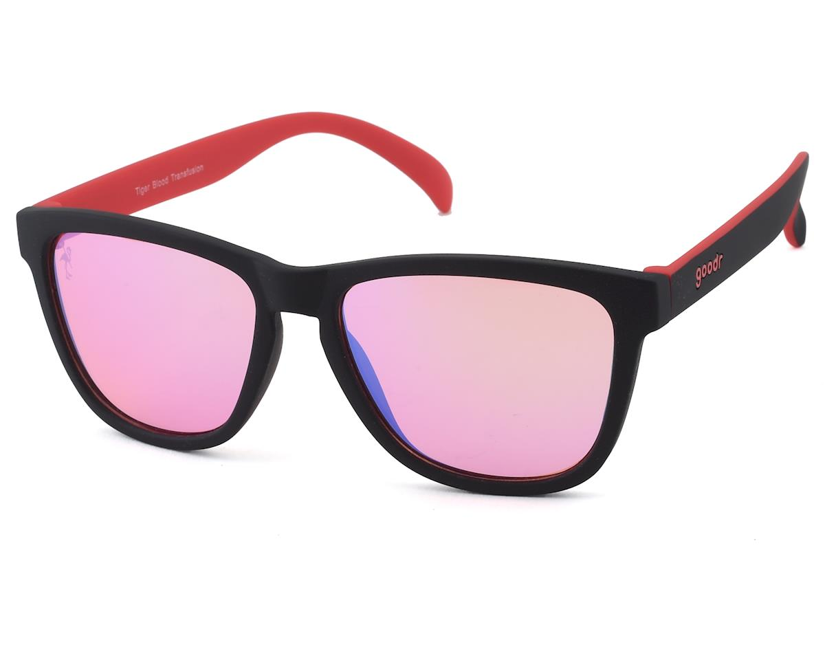 Goodr OG Bunker Bioptics Sunglasses (Tiger Blood Transfusion)