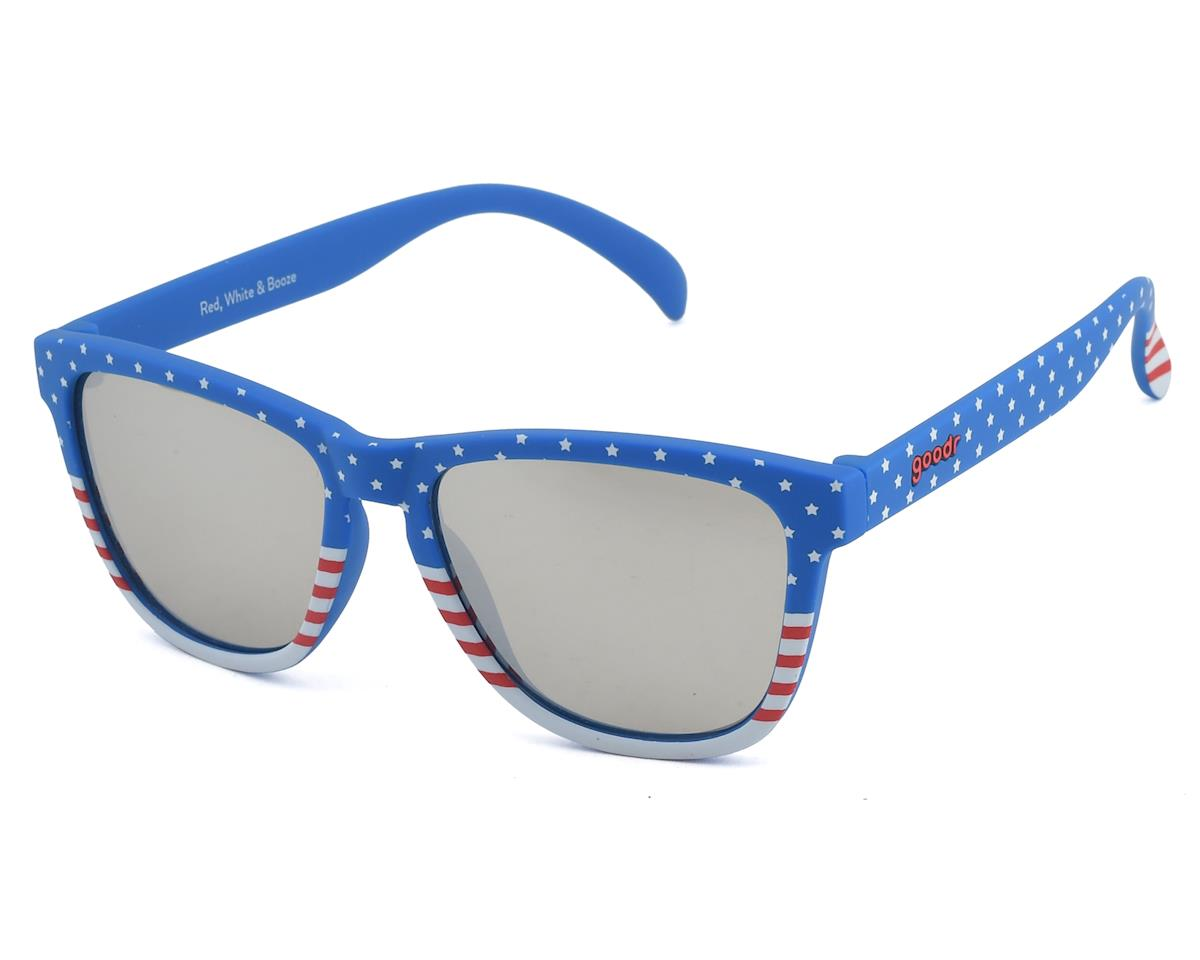 Goodr OG Sunglasses (Red, White & Booze)