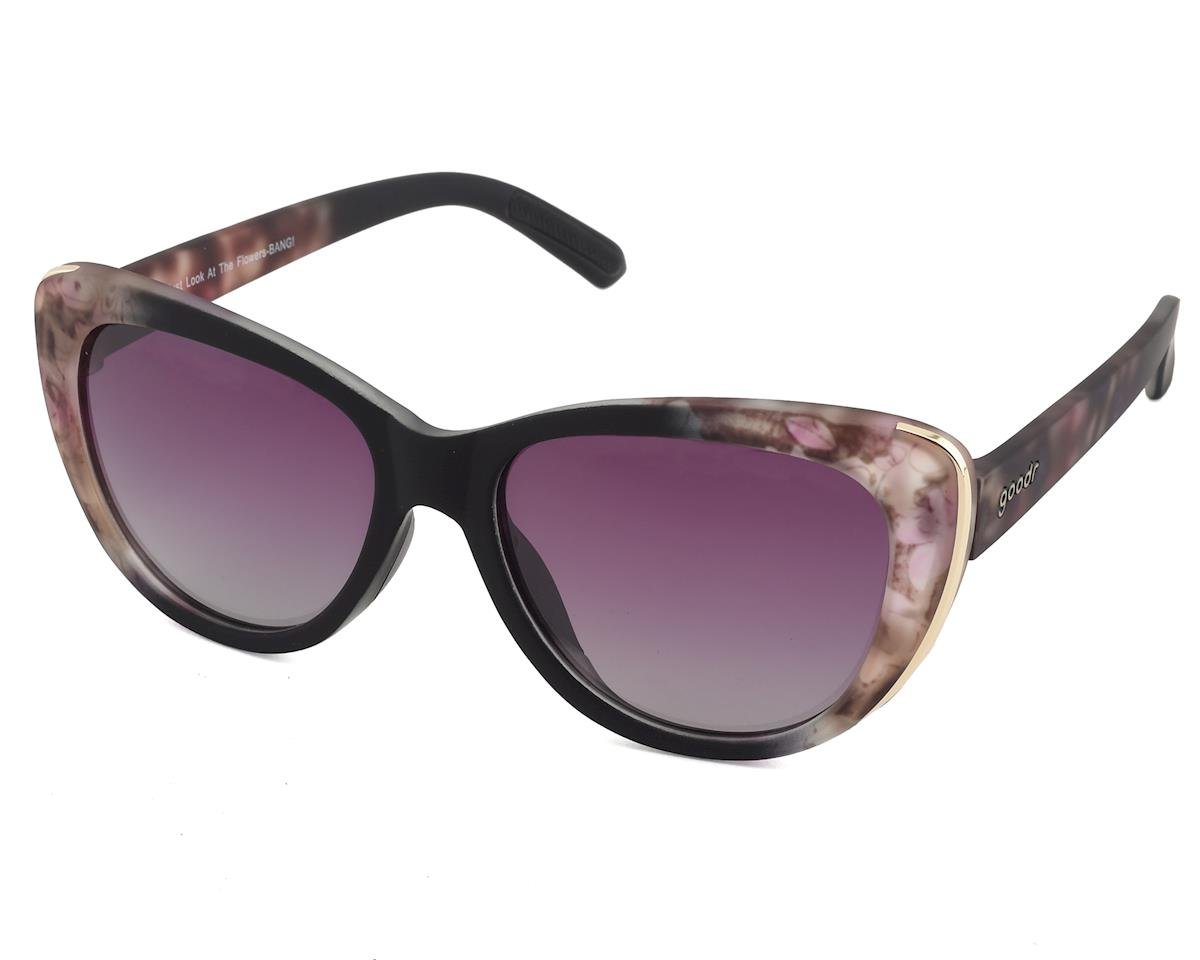 Goodr Runway Sunglasses (Just Look at the Flowers-BANG!)