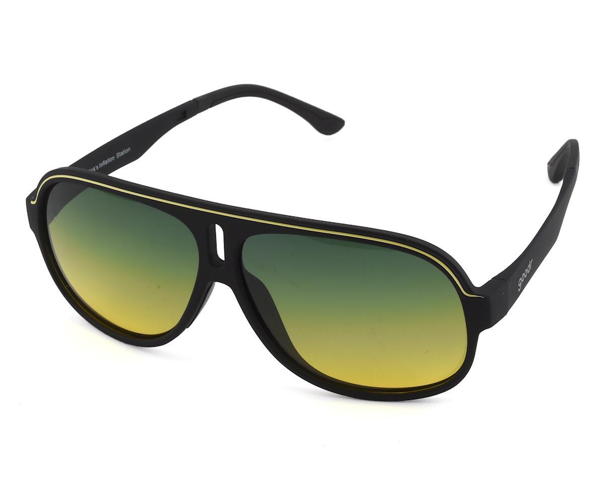 b650ee7a07 Goodr Super Fly Sunglasses (Dirk s Inflation Station)  SFG-BK-GRYW1 ...