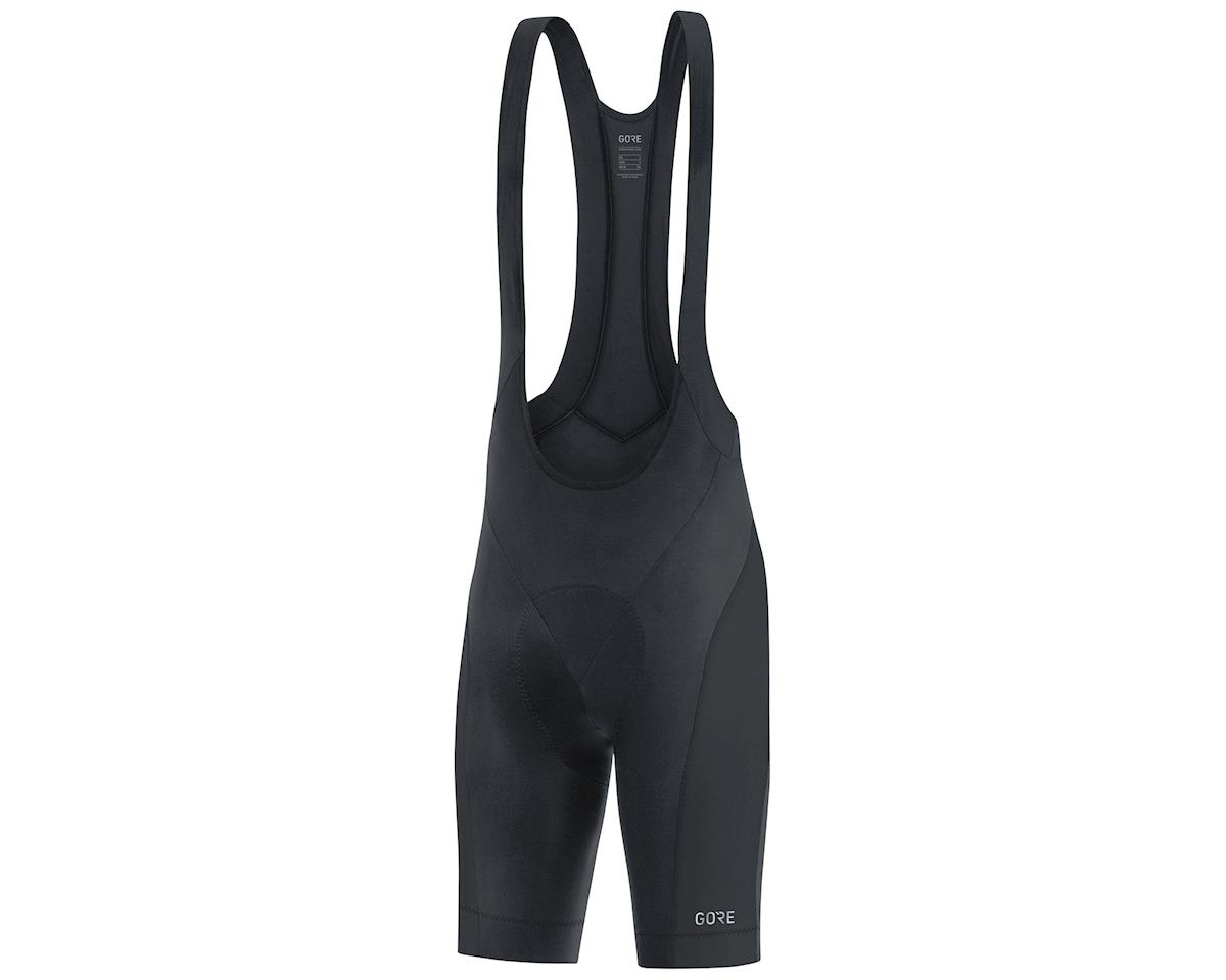 Gore Wear C3 Bib Shorts+  (Black) (XL)