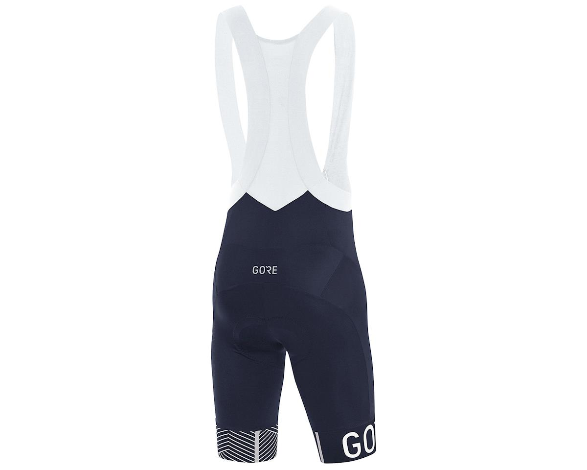 Image 2 for Gore Wear C5 Opti Bib Shorts+  (Oribit Blue/White) (L)