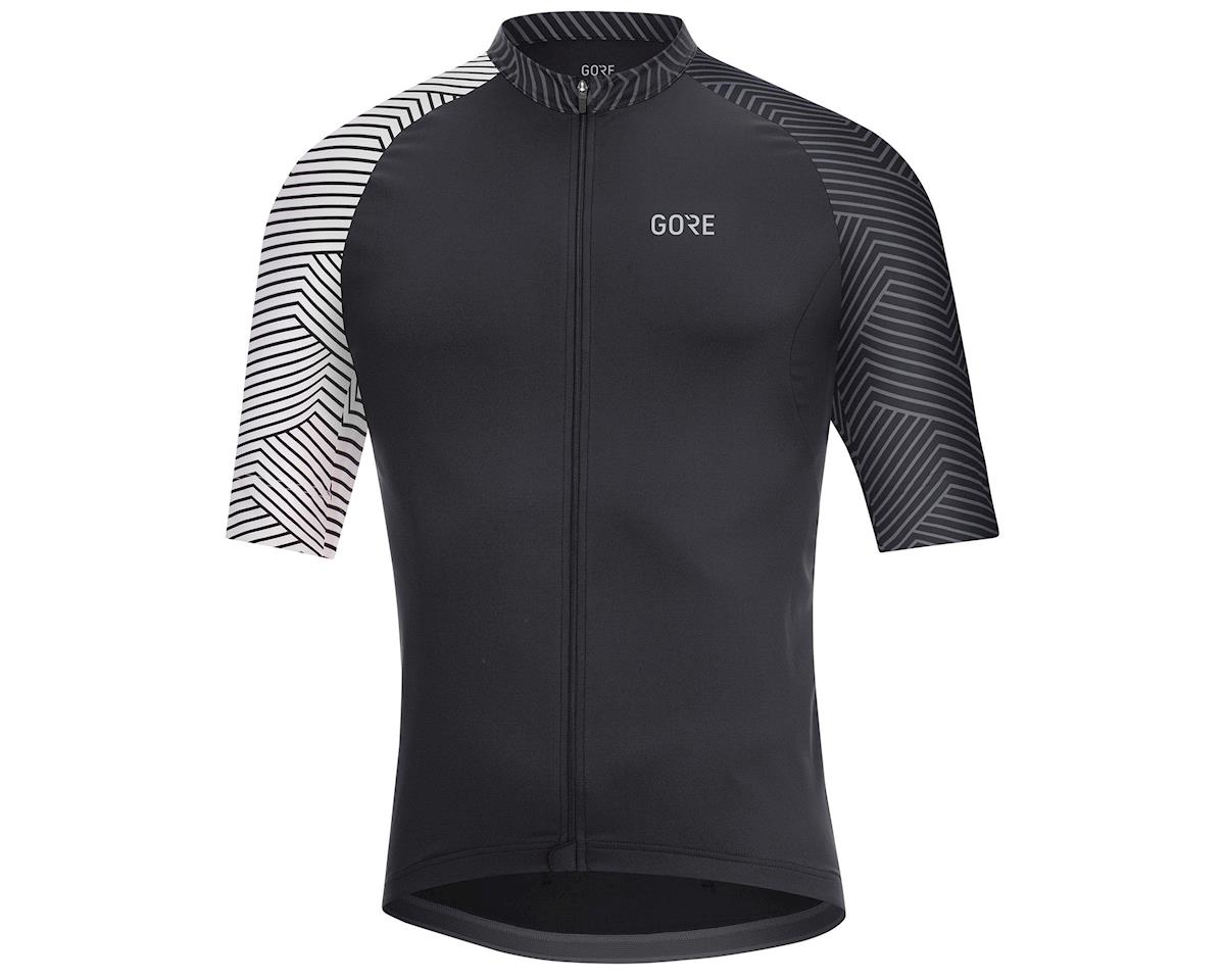 Image 1 for Gore Wear C5 Jersey (Black/White) (M)