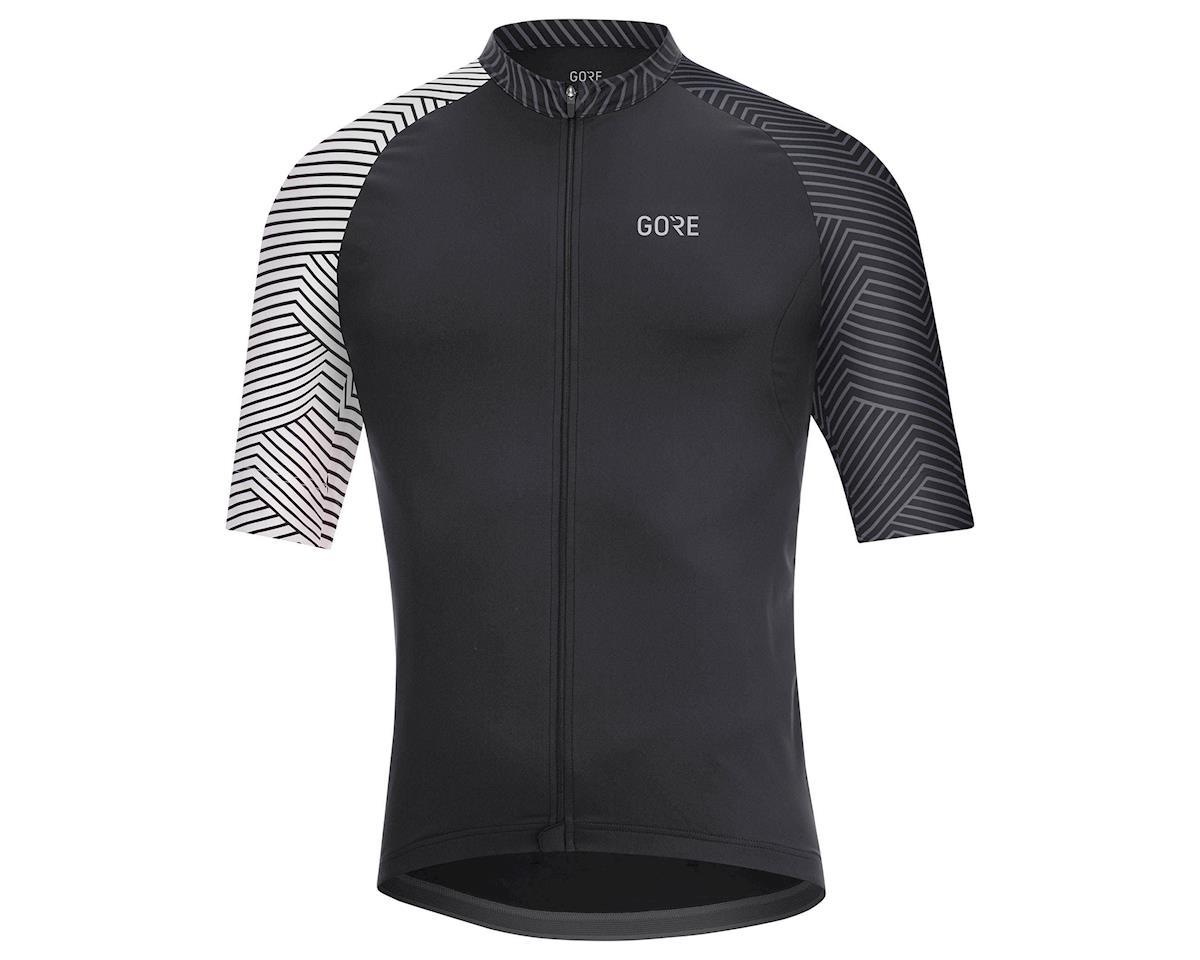 Gore Wear C5 Jersey (Black/White) (L)