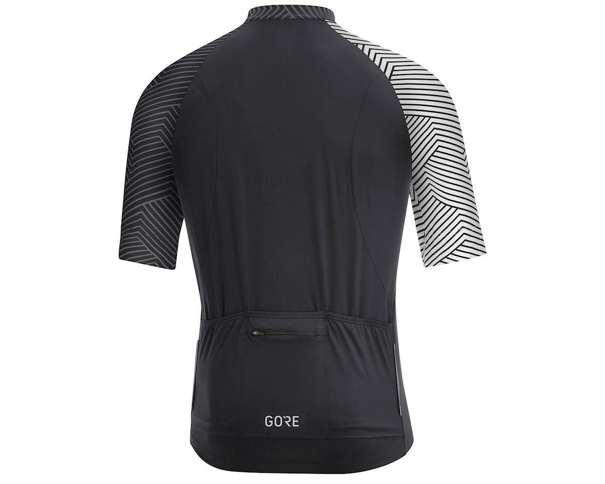 Gore Wear C5 Jersey (Black/White) (XL)
