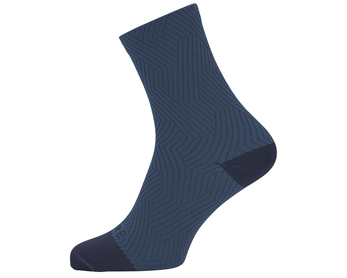 Image 1 for Gore Wear C3 Mid Socks (Orbit blue/Deep Water Blue) (XL)