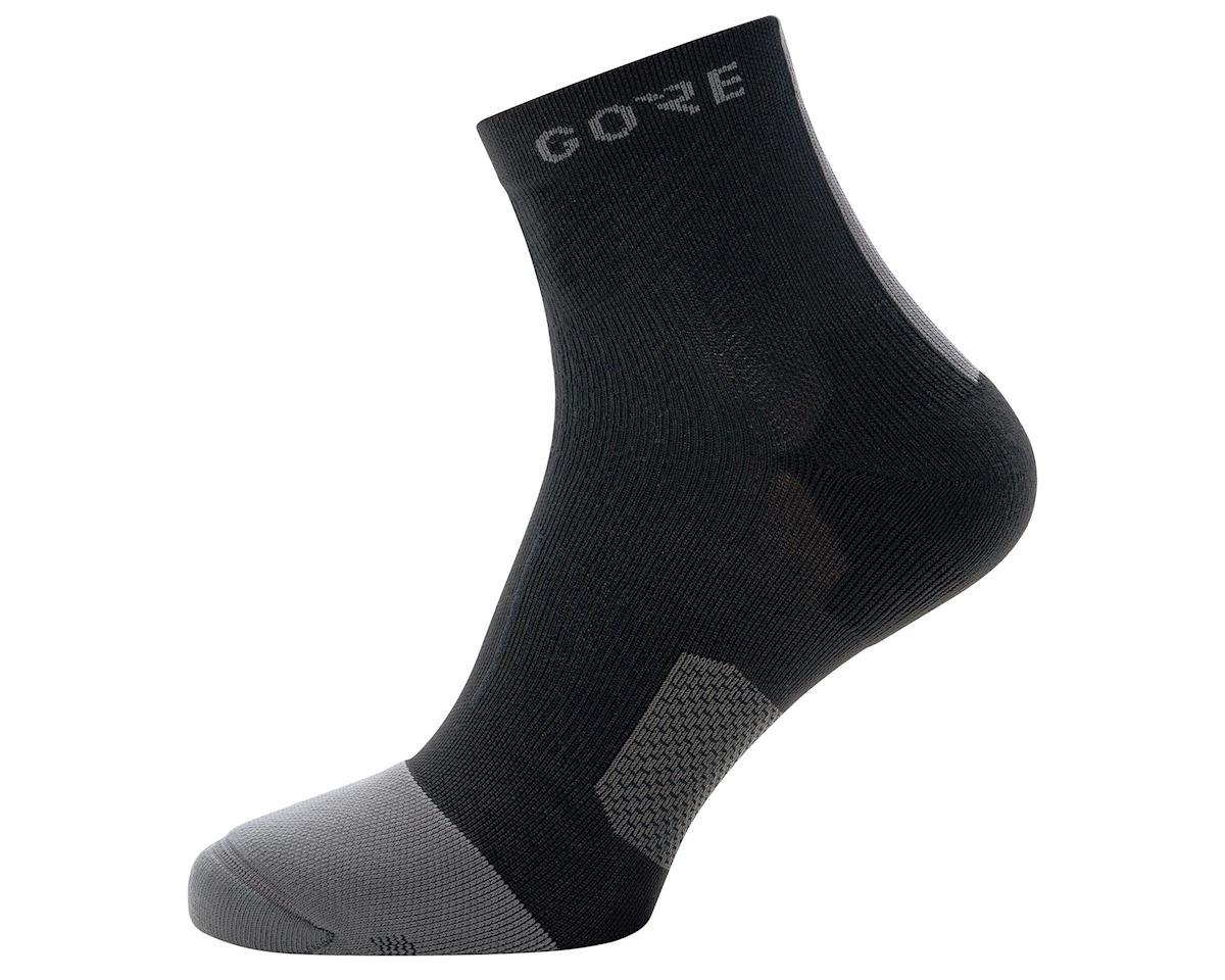 Gore Wear R7 Mid Socks (Black/Graphite) (M)