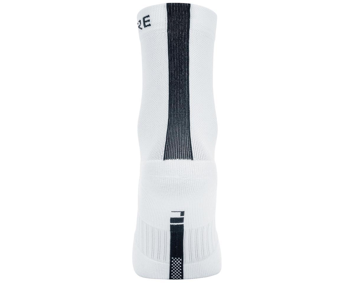 Gore Wear M Mid Socks (White/Black) (XL)
