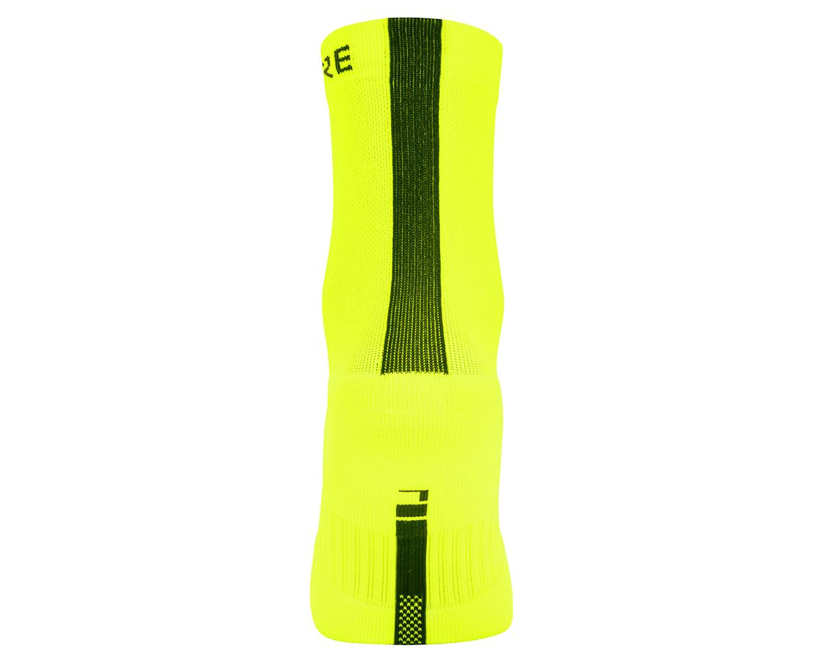 Gore Wear M Mid Socks (Neon Yellow/Black) (M)