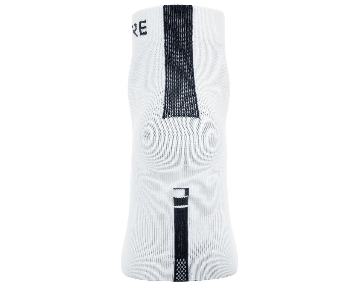 Gore Wear M Light Mid Socks (White/Black) (M)