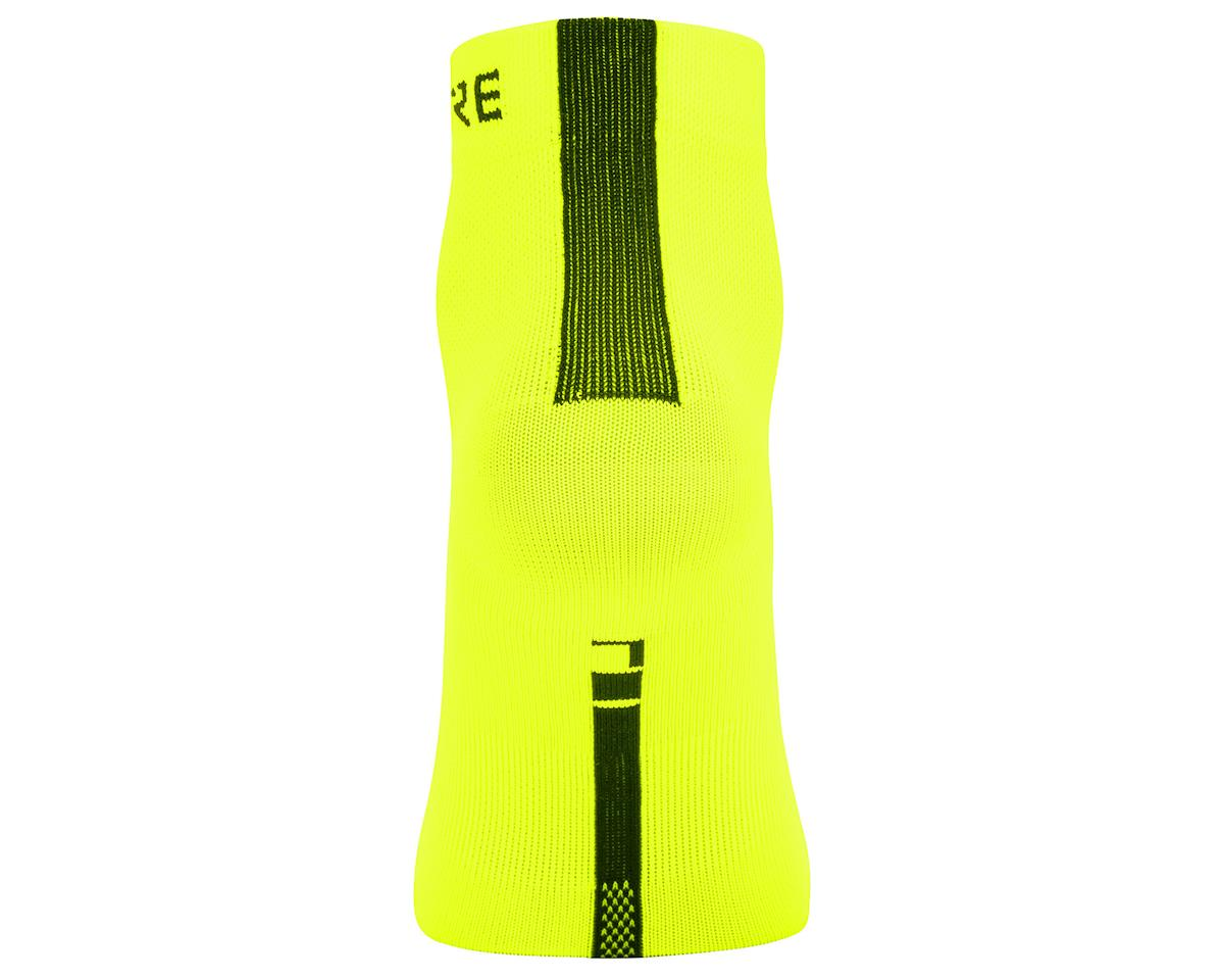Gore Wear M Light Mid Socks (Neon Yellow/Black) (M)