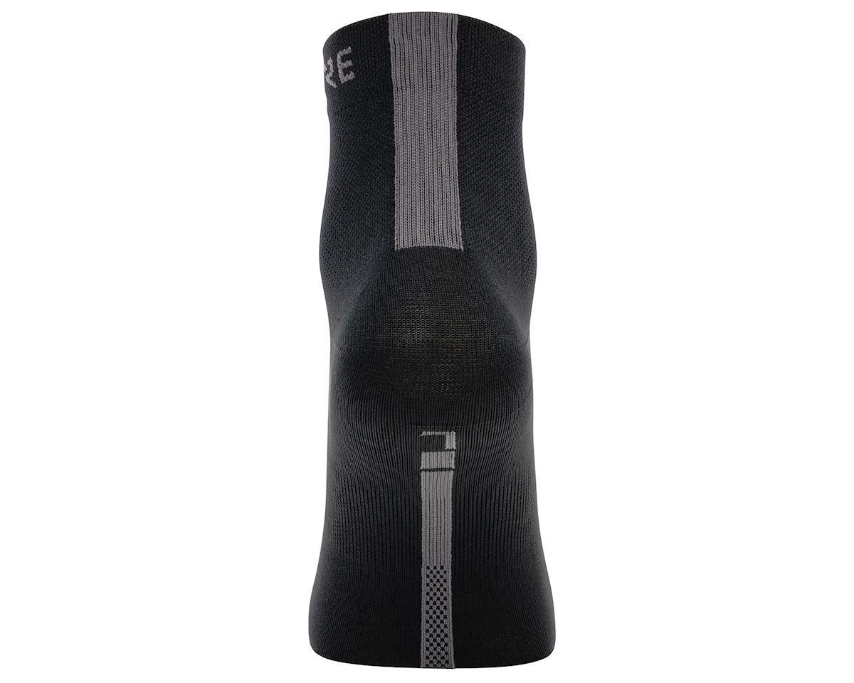 Gore Wear M Light Mid Socks (Black/Graphite Grey) (M)