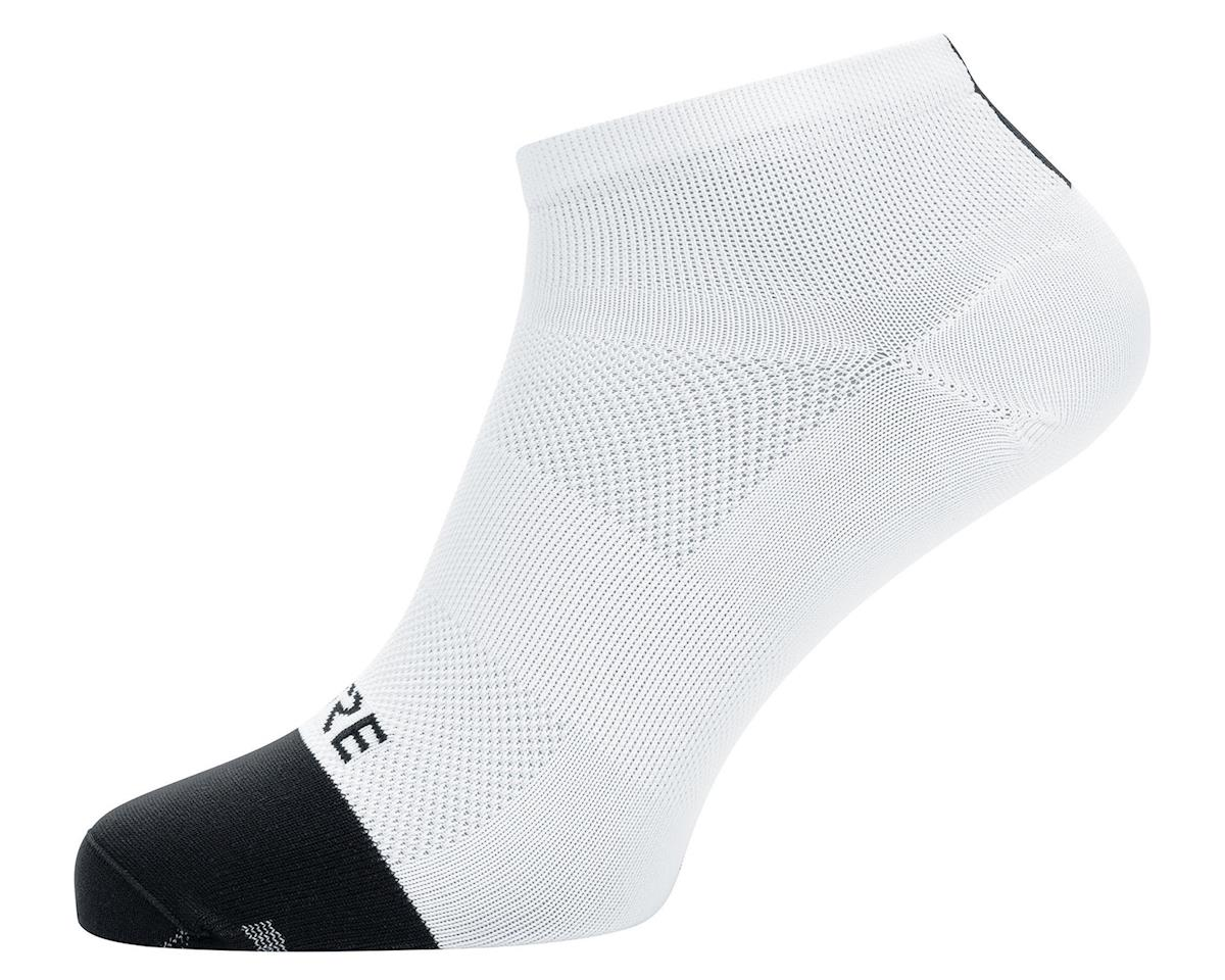 Gore Wear M Light Short Socks (White/Black) (M)