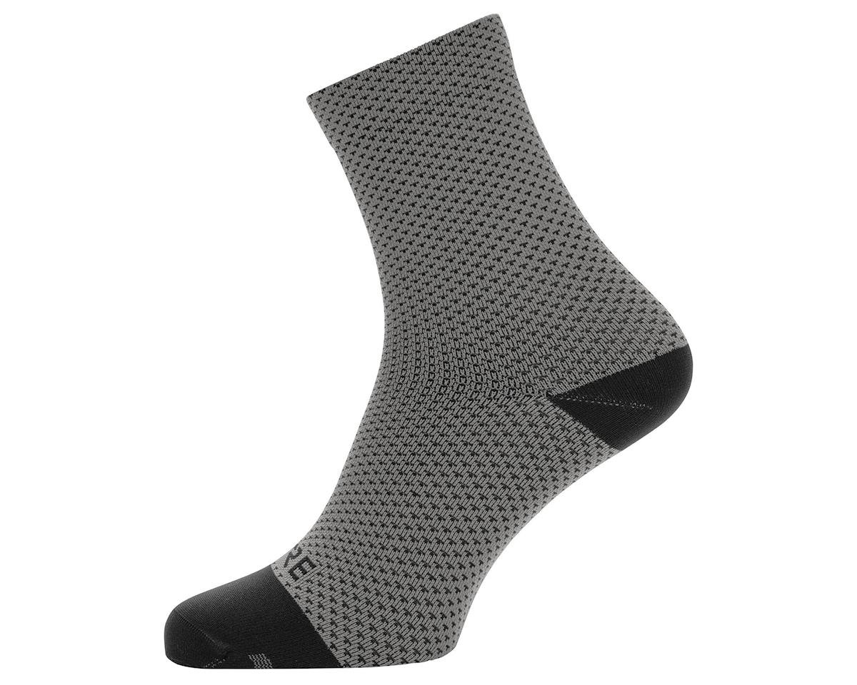 Gore Wear C3 Dot Mid Socks (Graphite Grey/Black)